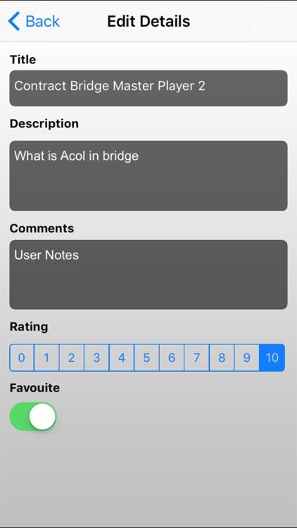 Contract Bridge Master Player screenshot-4