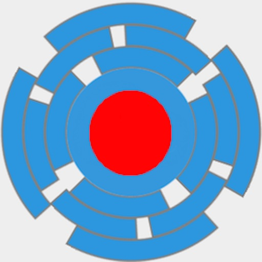 Spinny Circle Maze icon