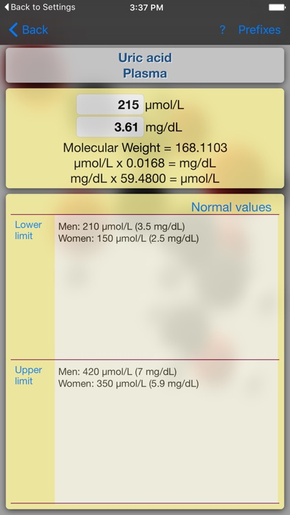 Medical Converter Lite screenshot-2