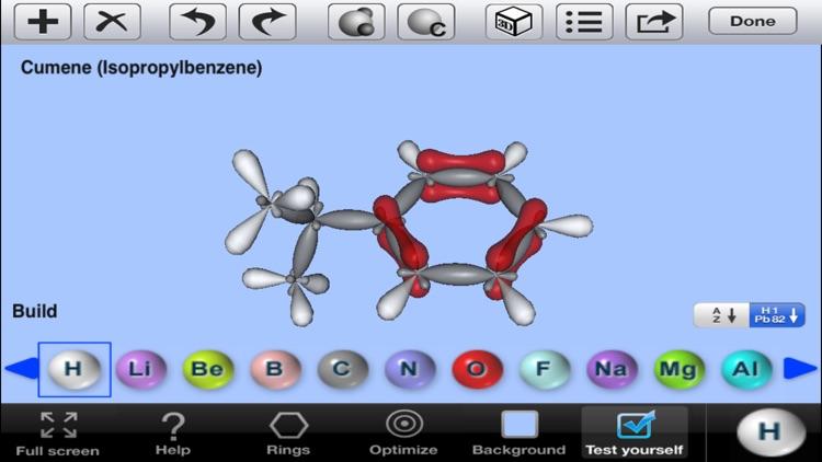 3D Molecules Editor