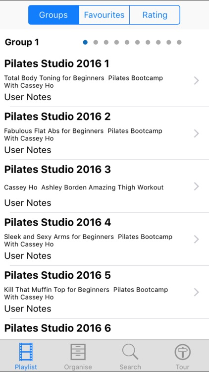Pilates Studio 2016 screenshot-1