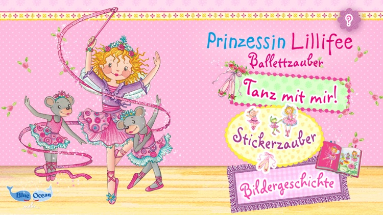 Prinzessin Lillifee Ballettzauber - Bildergeschichte, Tanzspiel, Stickerzauber screenshot-0