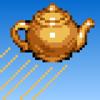John Peck - Tea Frenzy – The Flying Teapot Word Game artwork