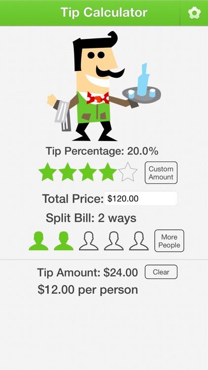 Tip Calculator for Mobile screenshot-0