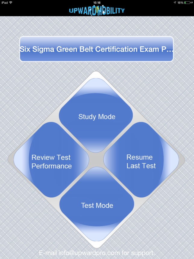 Six Sigma Green Belt Exam Prep Im App Store