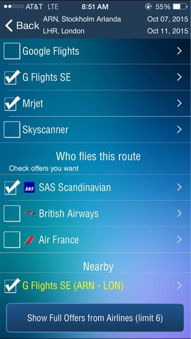 Screenshot for Stockholm Arlanda Airport (ARN) Flight Tracker Scandinavian Sweden Skavsta Bromma in Finland App Store