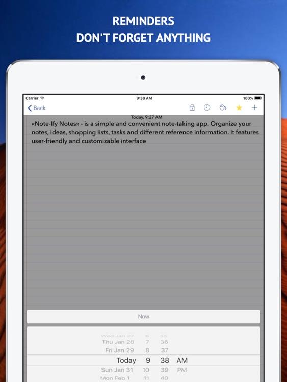 Note-Ify HD Pro screenshot-4