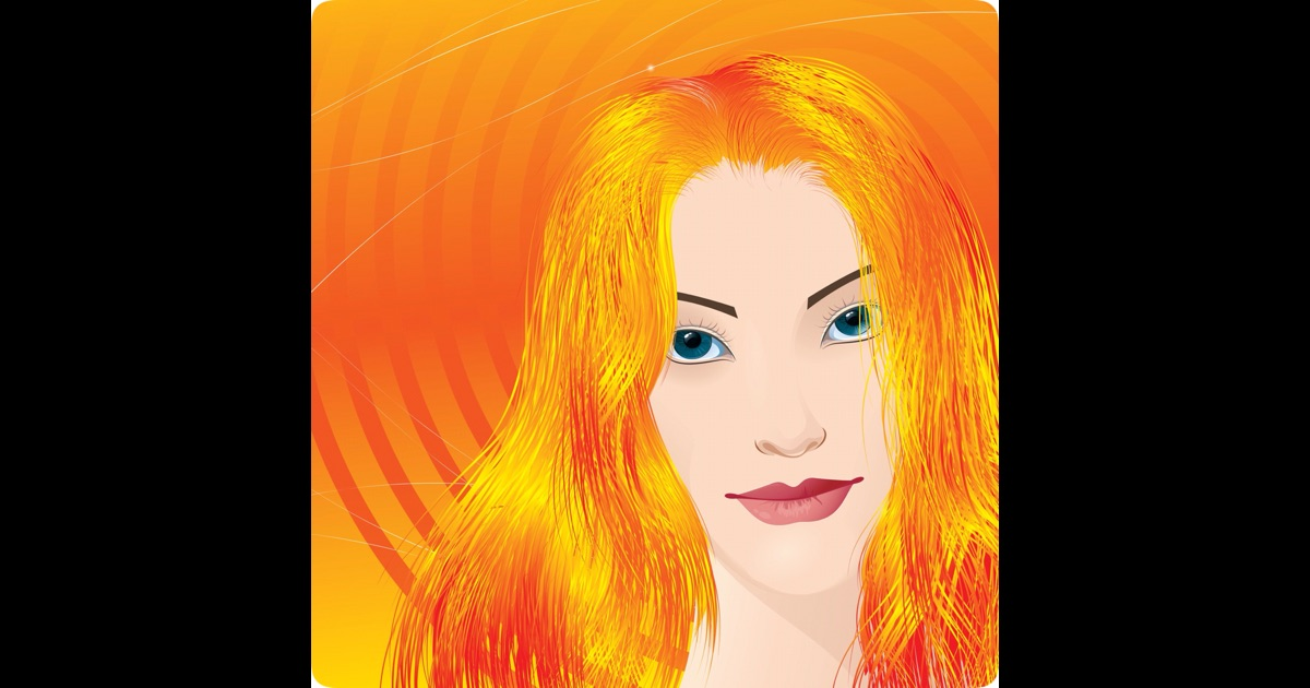 Change Hair Color together with Hair Color Change App. on change hair