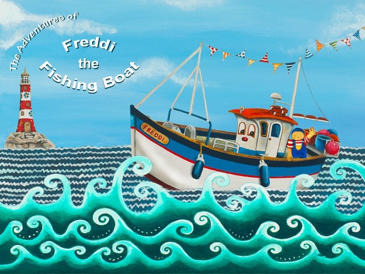 Freddi the Fishing Boat
