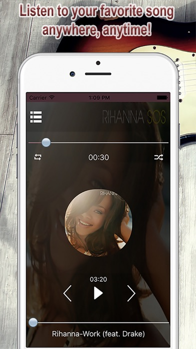 Music Trending Freedom: Mp3 Player and Free Music Play list Manager