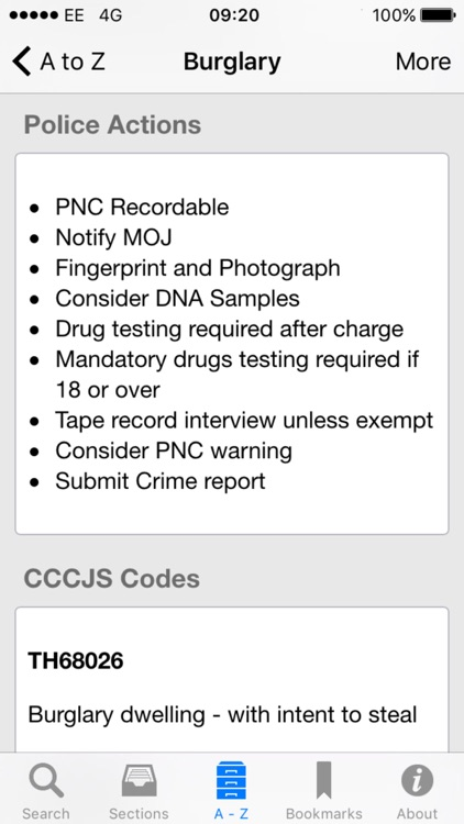 iPlod - Police Pocket Guide screenshot-4