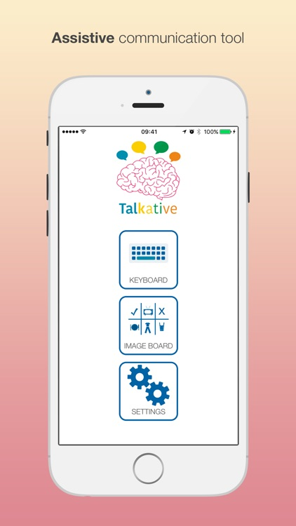Talkative: Assistive Speech