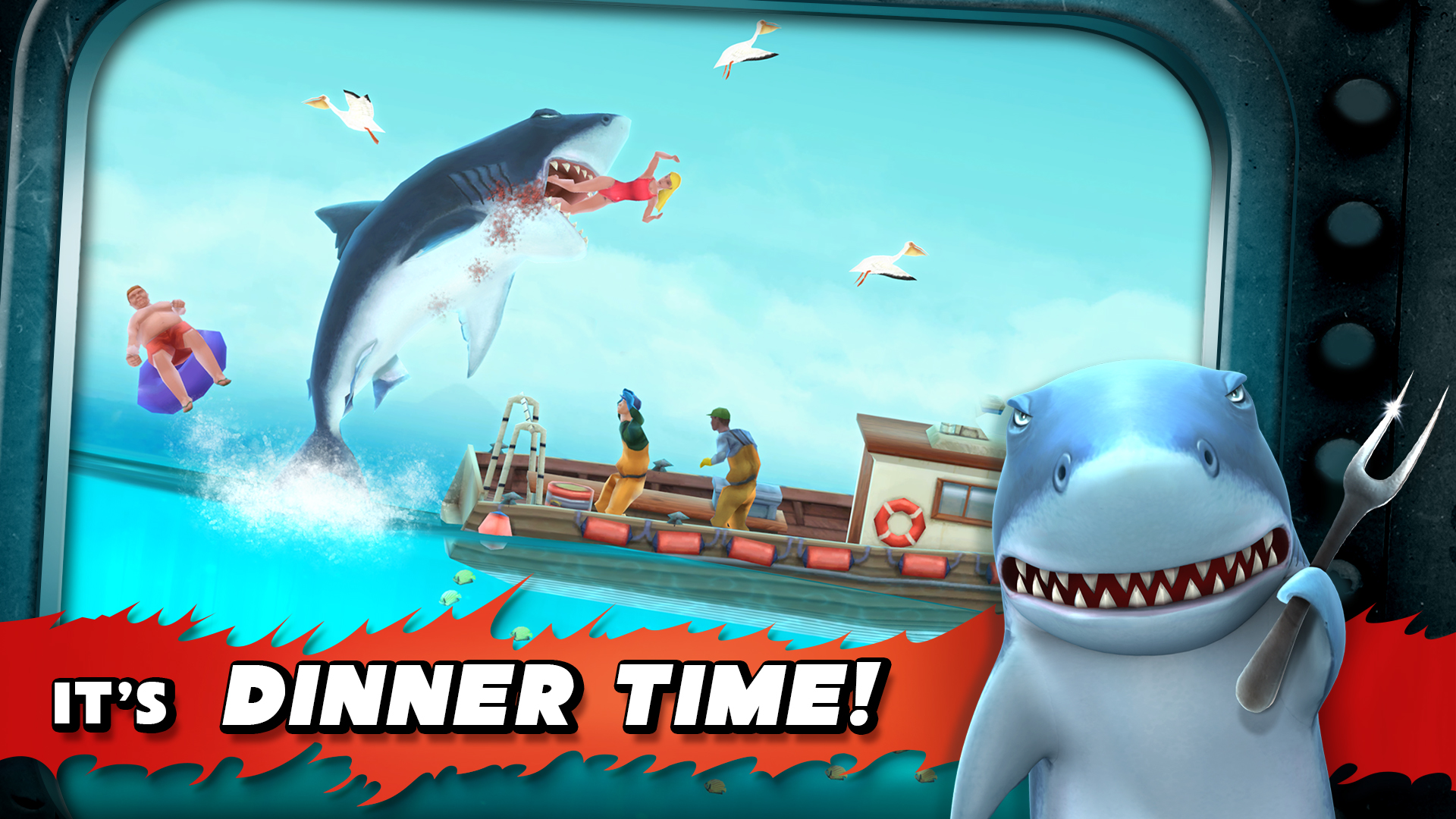 Hungry Shark Evolution screenshot 12