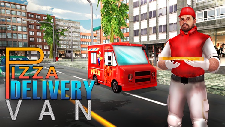 Pizza Delivery Van Simulator – fast food truck driver simulation game screenshot-3