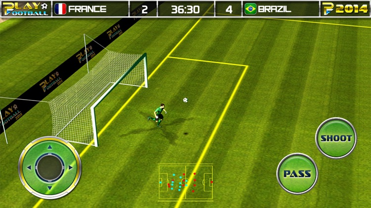 Play Football Real Soccer - Best free kick game screenshot-3