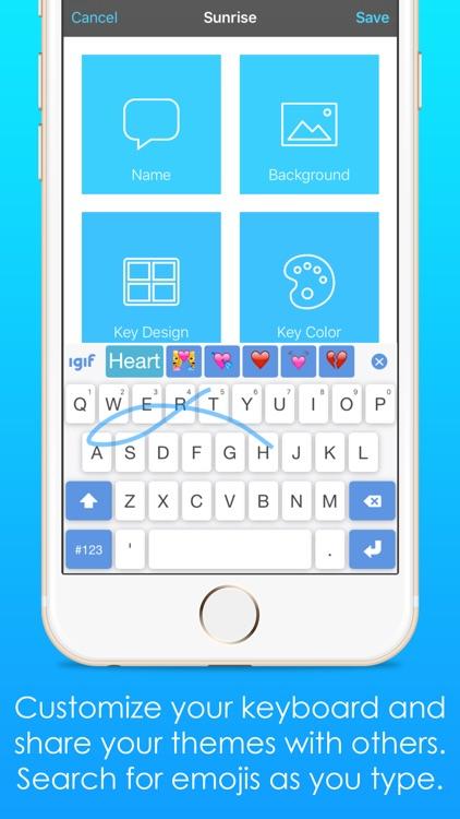 iGIF – Custom Swipe & GIF Keyboards Free screenshot-3