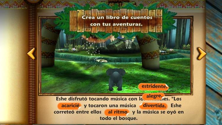Safari Tales Español – aprende a leer a través del juego creativo screenshot-4