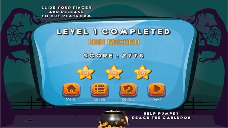 Puzzle Game - Cut the pumpkin screenshot-3