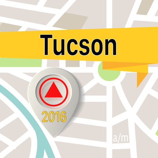 Tucson Offline Map Navigator and Guide