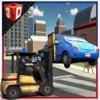 警车升降模拟器3D - 警察驾驶车辆解除错误地停放的汽车