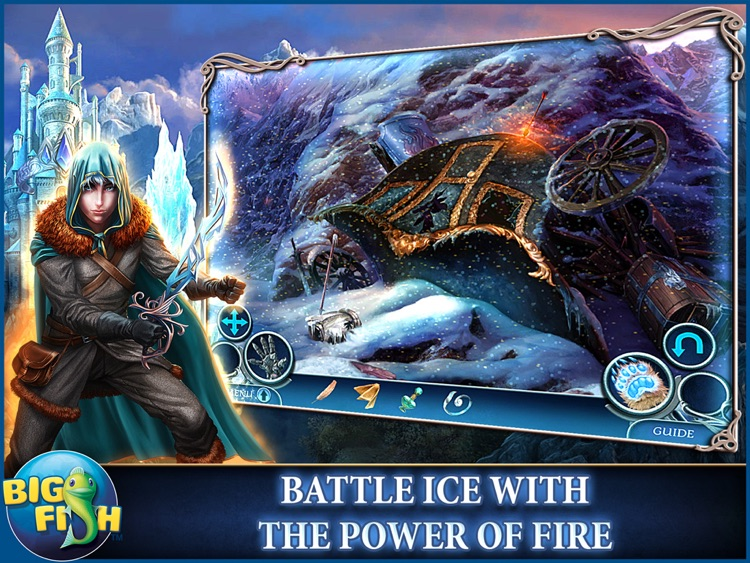 Dark Realm: Princess of Ice HD - A Mystery Hidden Object Game (Full) screenshot-0