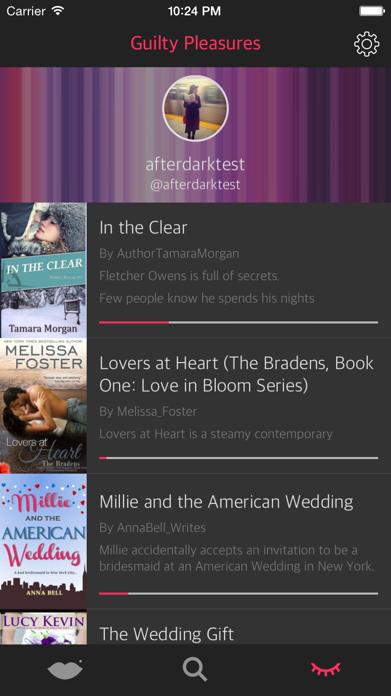 After Dark - Romance books Screenshot