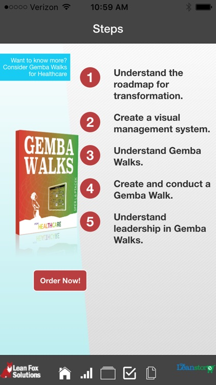Healthcare Lean Roadmap and Gemba Walk screenshot-1