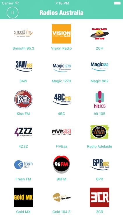 Radios Australia Pro (Radio Aussie FM) screenshot-3