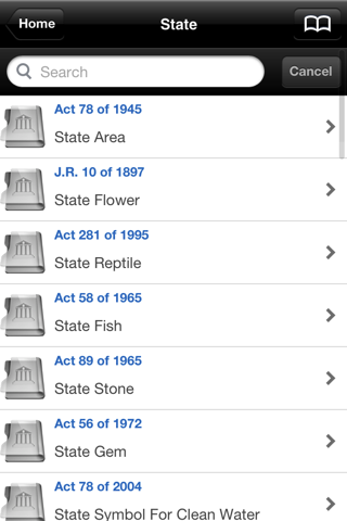 Michigan Laws (MCL), MI Code screenshot 2