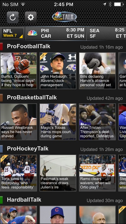 NBC Sports Talk screenshot-1