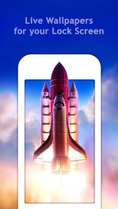 Screenshot #1 for Live Wallpaper for iPhone 6s, 6s plus – Free Animated ...