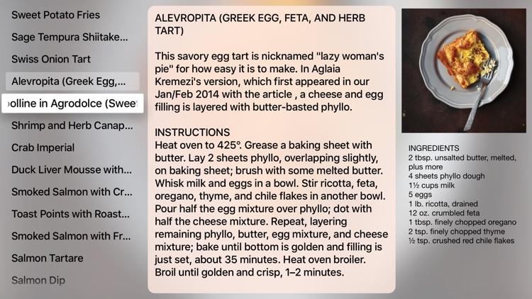 Best Snack Recipes - TV Cookbook PRO