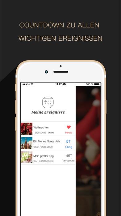 Countdown App Free (Big Day Event Timer Reminder)Screenshot von 3