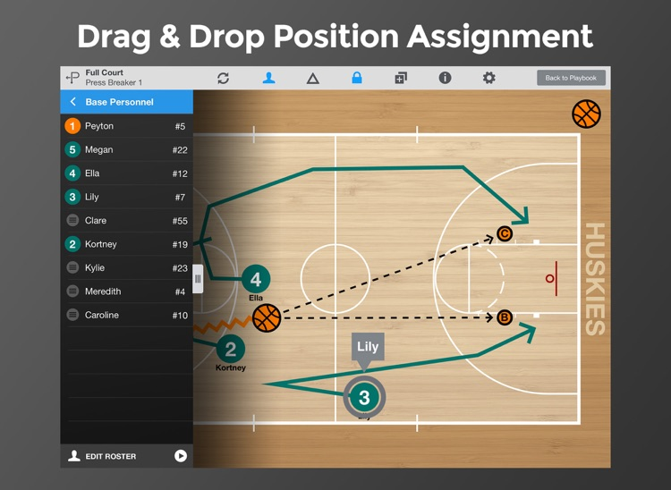 Basketball Playmaker Playbook screenshot-3