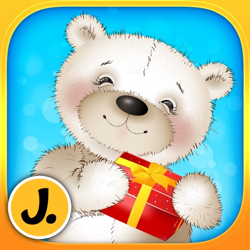 Cute Teddy Bears - puzzle game for little girls, boys and preschool kids - Free