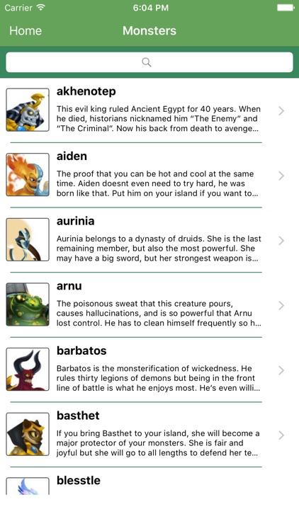 Guides for Monster Legends