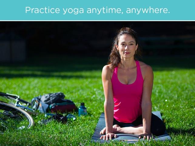 FitStar Yoga Screenshot