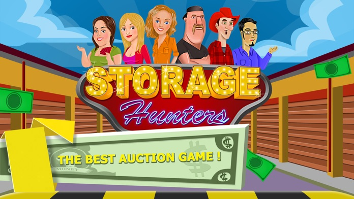 Storage Hunters: Auction Battle Stars FREE Screenshot