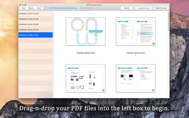 converter pdf em excel programa gratis