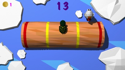 Froggy Log - Endless Arcade Log Rolling Simulator and Lumberjack Game Stay Dry and Dont Fall In The Water!-1