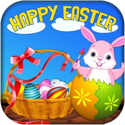 Surprise Eggs Easter's Greetings - Peel, scratch & squeeze the yolk to collect hidden gifts in Bunny's Easter basket