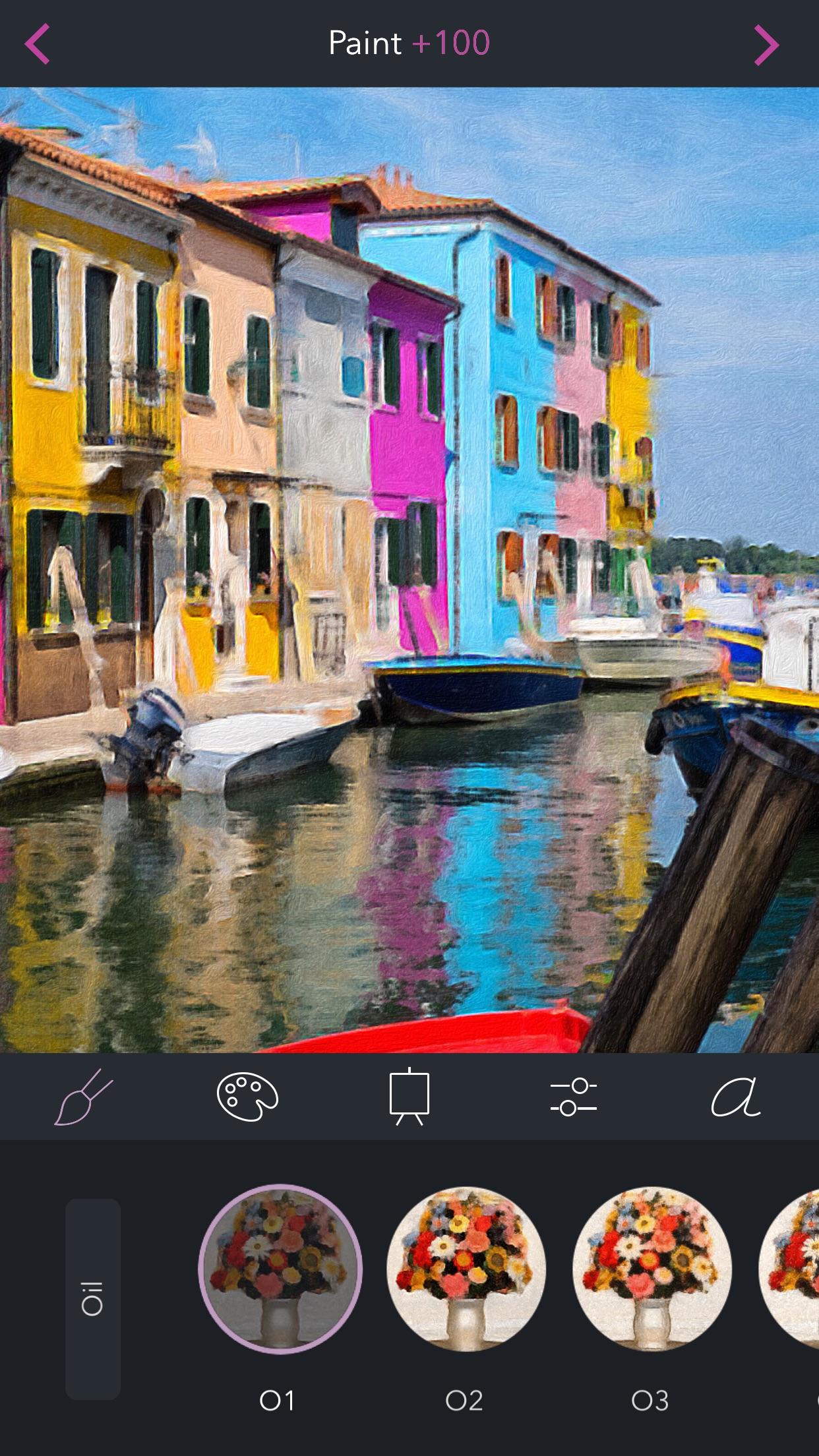 Screenshot do app Brushstroke