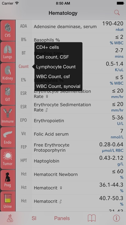 LabGear - Medical Lab Tests and Reference screenshot-4