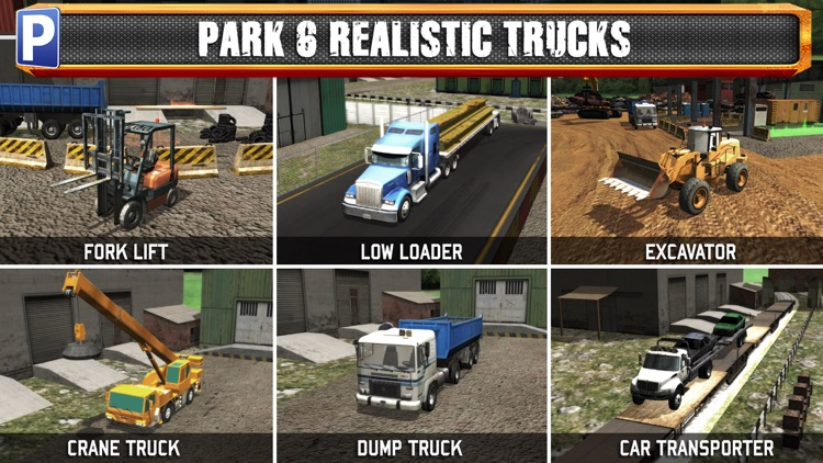 Junk Yard Trucker Parking Simulator a Real Monster Truck Extreme Car Driving Test Racing Sim screenshot-1