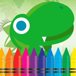 123 Dinosaur Coloring and Alphabet wrting Book Games for kids