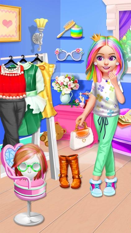Kids Hair Salon - Hairstyles Maker & Dress up screenshot-3
