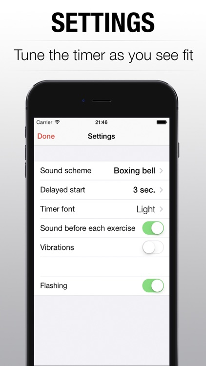 WOD Timer - interval tabata round timer for hiit training PRO screenshot-4
