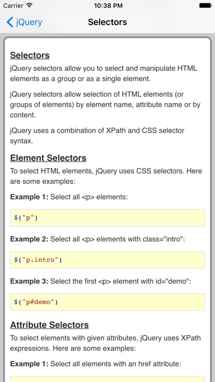 jQuery Pro FREE screenshot-3