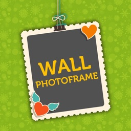 Brick Wall Theme Photo Frame/Collage Maker and Editor - Foto Montage with Colorful Frames