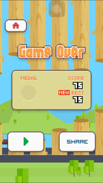 Crossy Bird - Endless Arcade Flappy screenshot-3